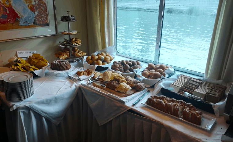 Saga River Cruise Filia Rheni Food Breakfast Bread Gluten Free
