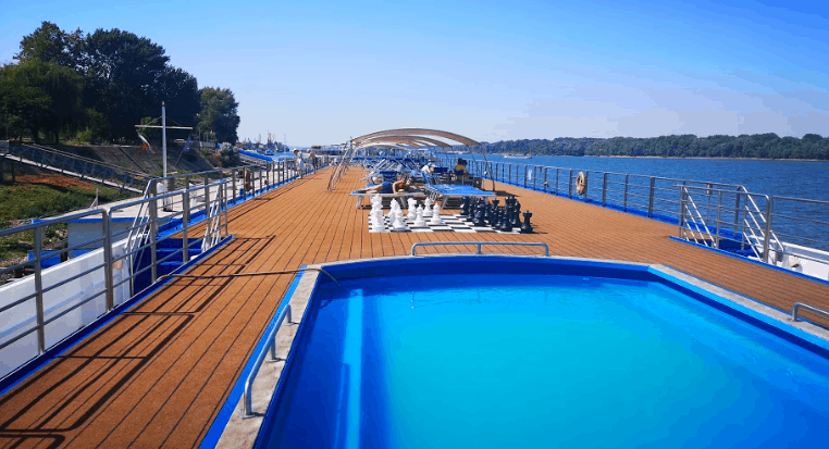 River Cruise Top Deck Swimming Pool Filia Rheni