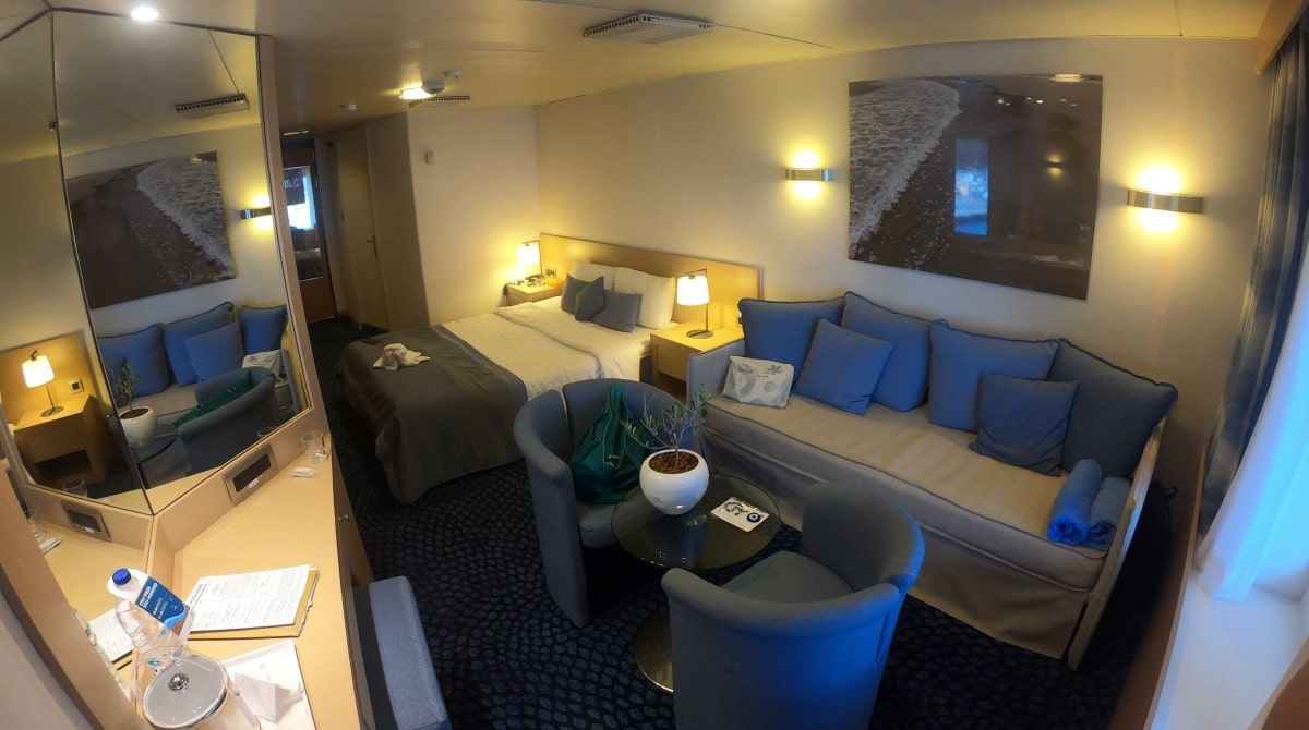 Celestyal Cruises Olympia Mini Suite Cabin 7019