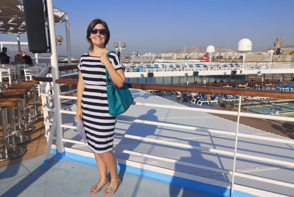 Celestyal Olympia Pool Deck Embarkation Day