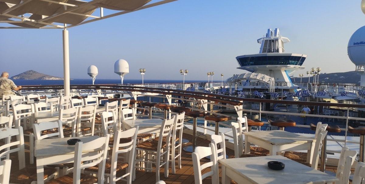 Celestyal Olympia Cruises Pool Bar