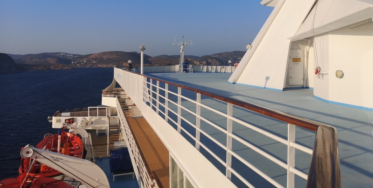 Celestyal Cruises Olympia Top Deck