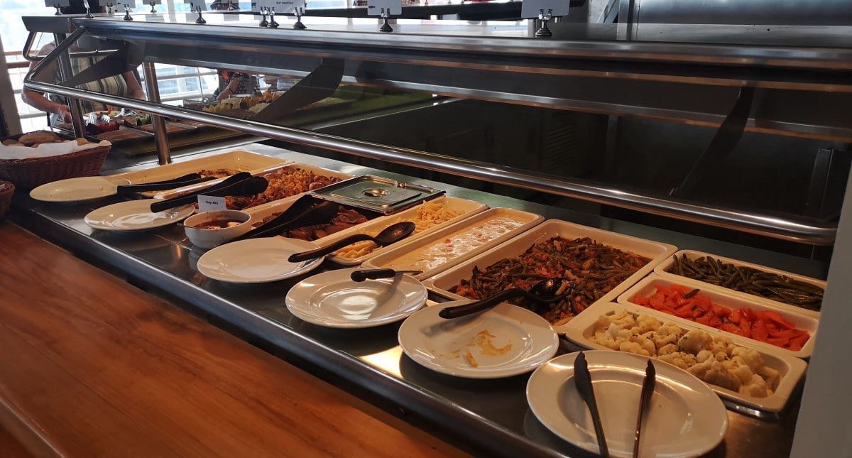 Celestyal Cruises Olympia Buffet Food