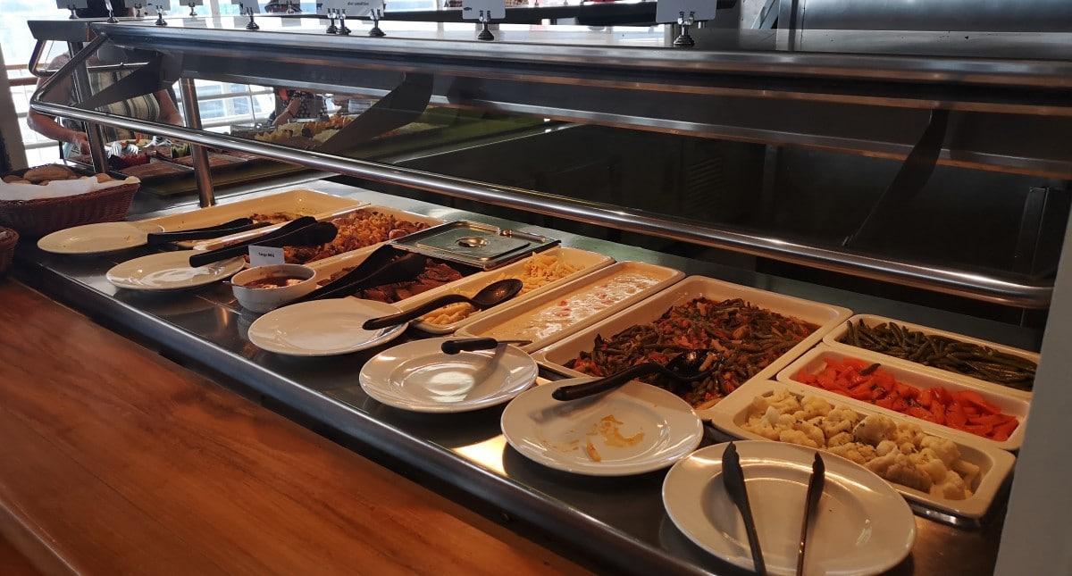 Celestyal Cruises Olympia Buffet Food
