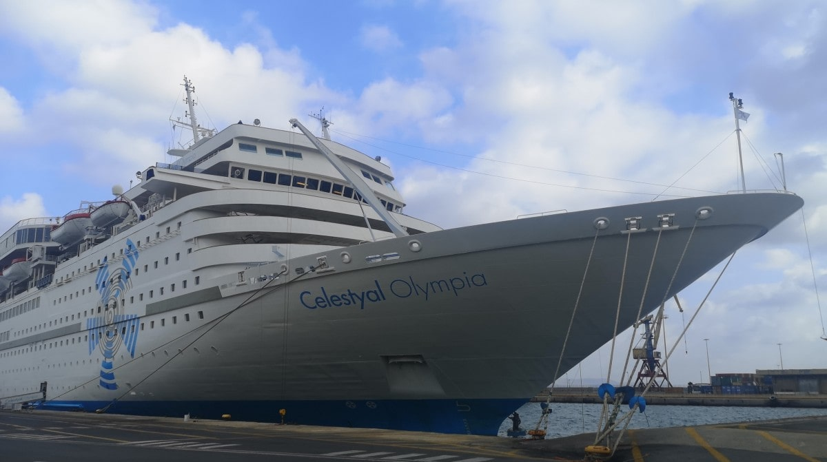 Celestyal Cruises Olympia Bow