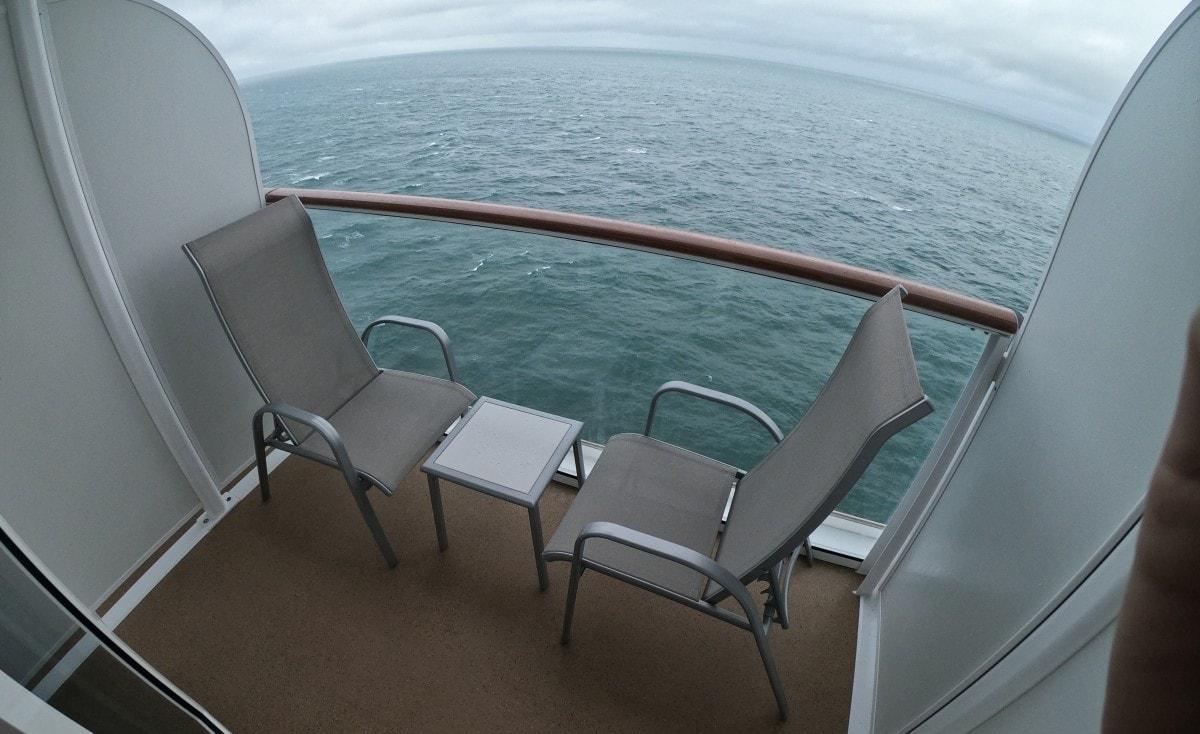 Norwegian Encore Mini Suite Balcony Cabin