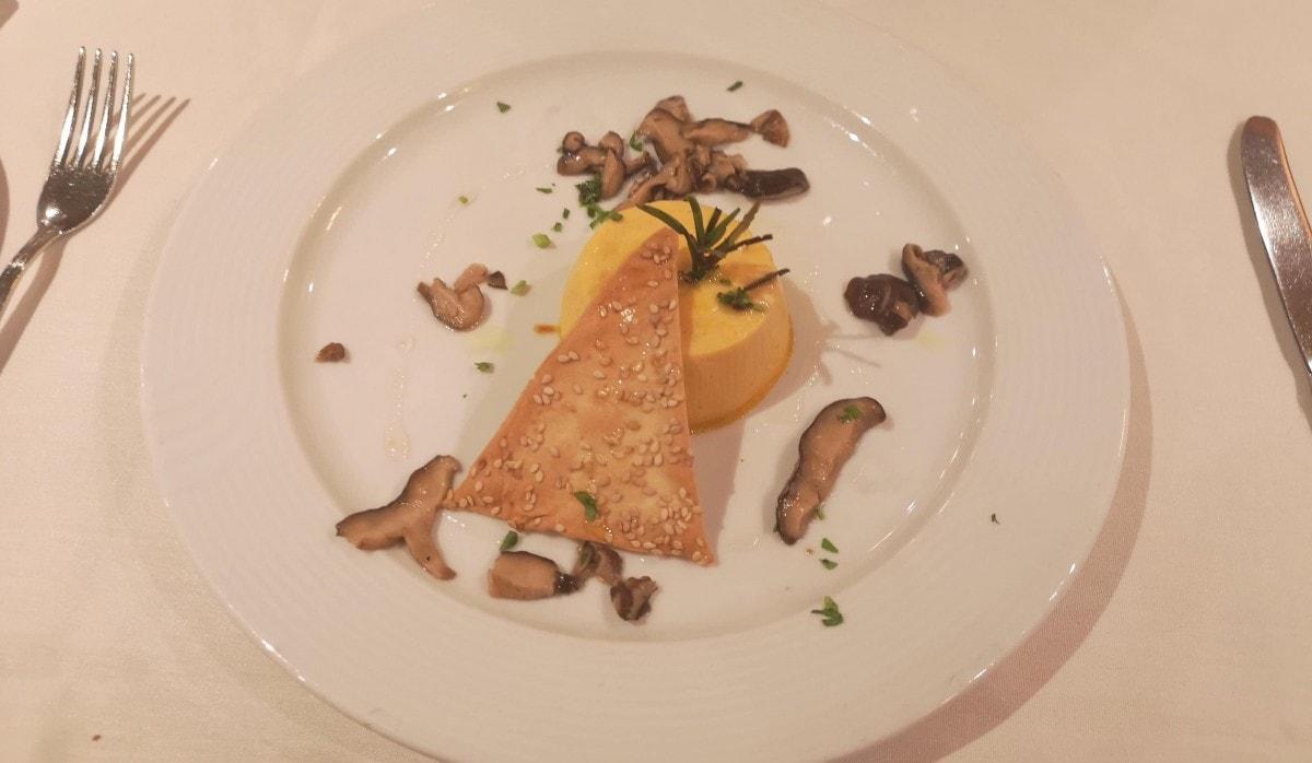Costa Cruises Main Dining Room Food