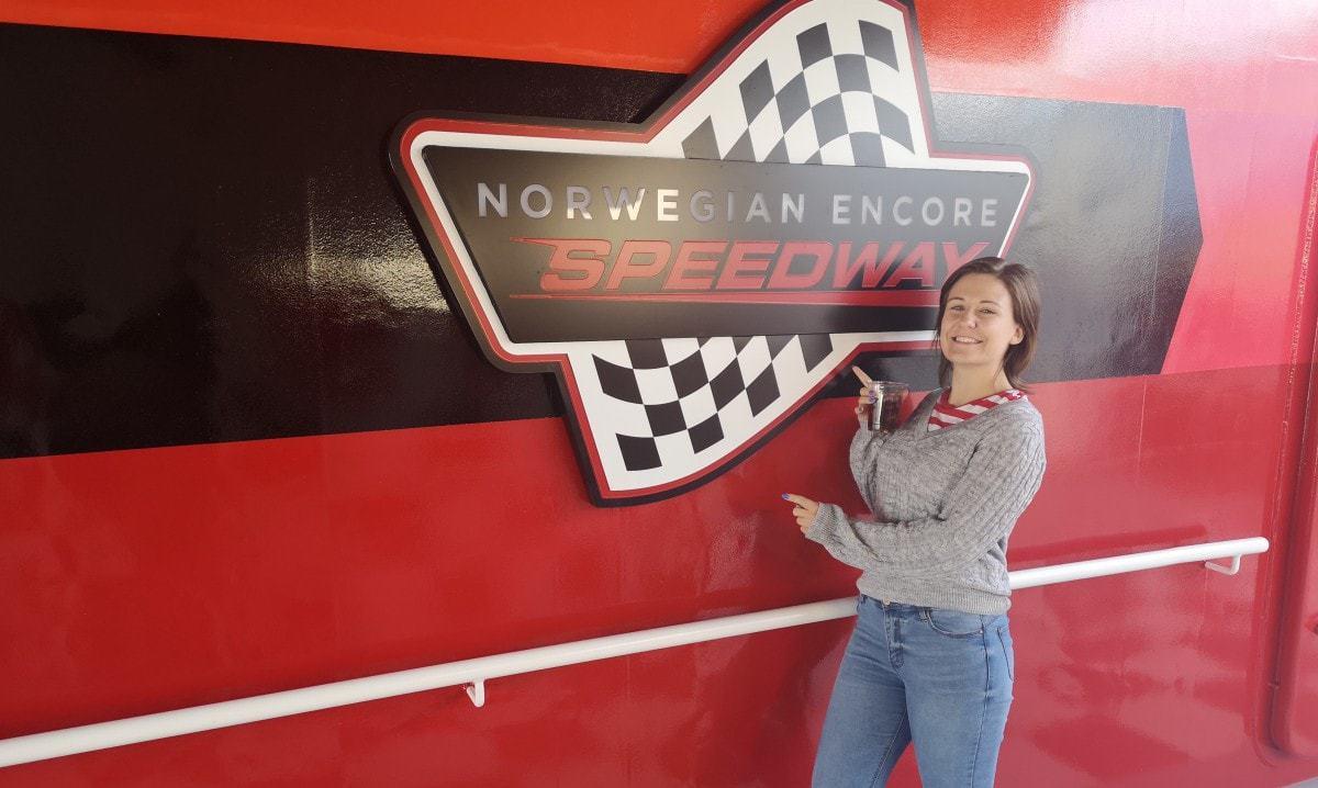 Norwegian Encore Speedway Go Kart Track