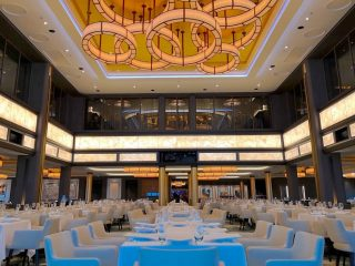 Norwegian Cruise Line Main Dining Room Norwegian Encore Manhattan Room