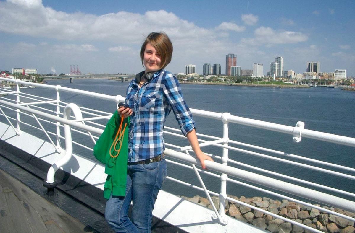 Queen Mary Ocean Liner Top Deck