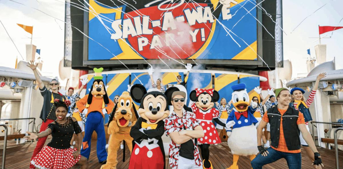 Disney Sail Away Party