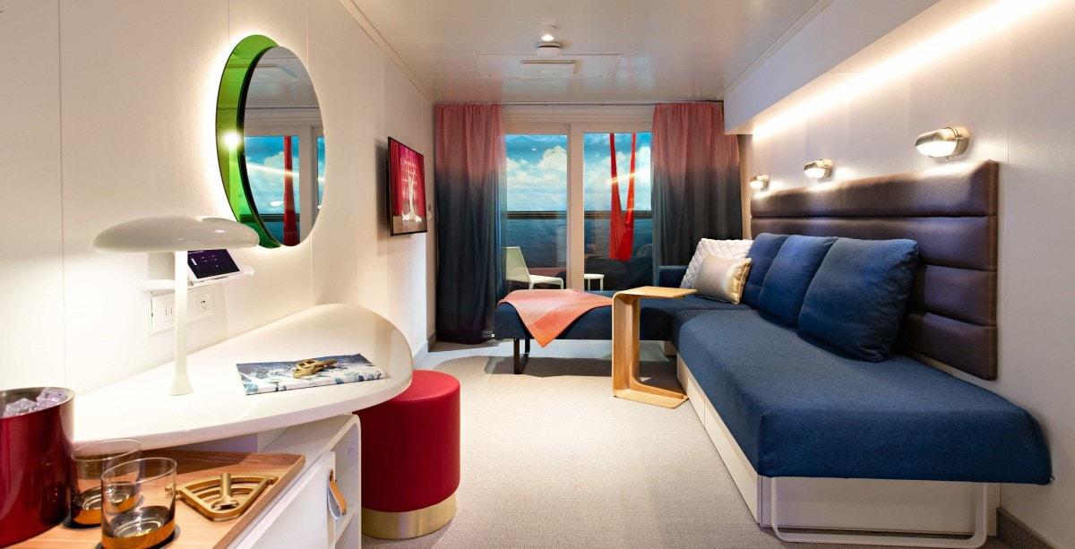 Virgin Voyages Cabin