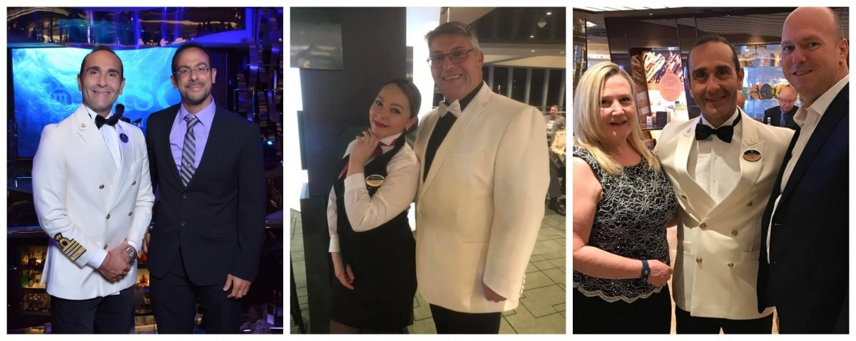 MSC Cruises Photos With Staff, Captain and Crew