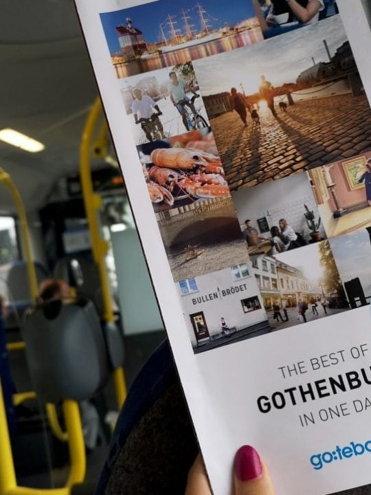 Gothenburg Cruise Bus Baltic Cruise Tips