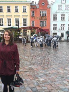 baltic cruise tallin rain bike tour