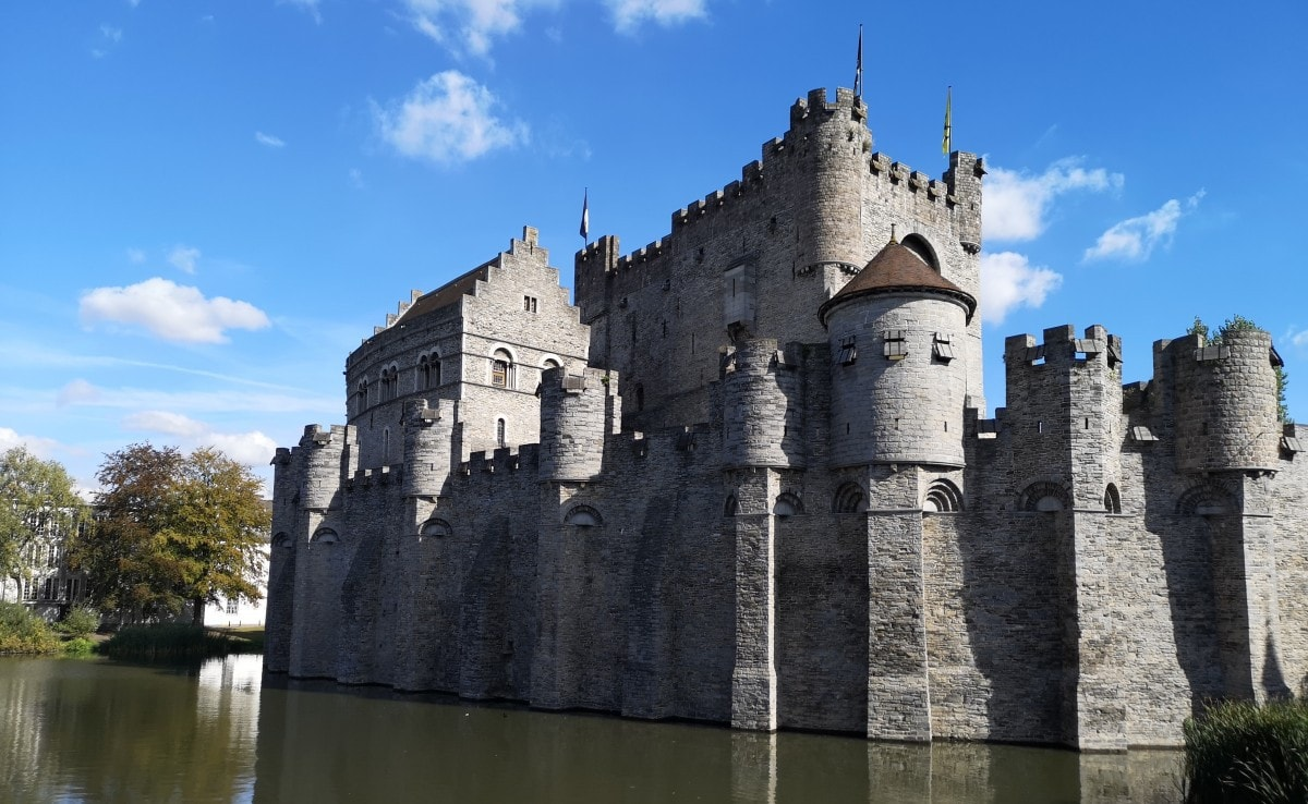 cruise ghent castle excursion
