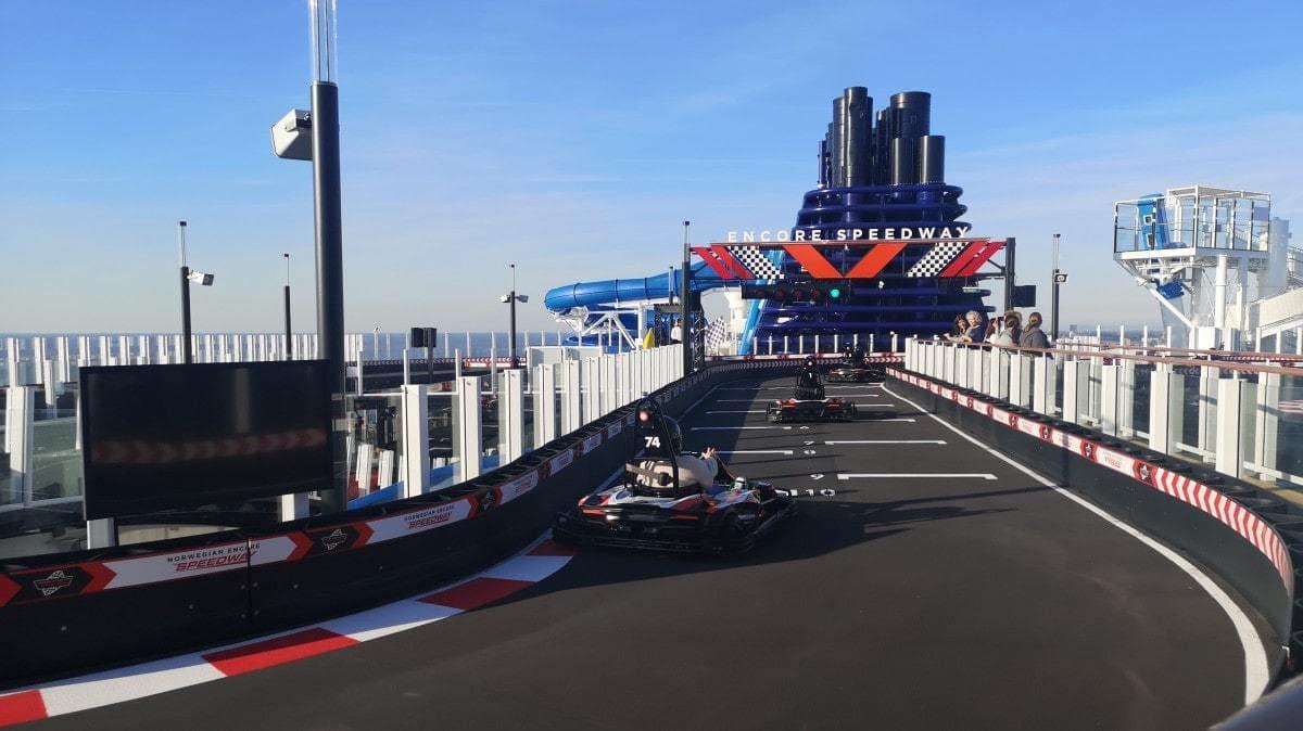 Norwegian Encore Go Kart Track Go Karts