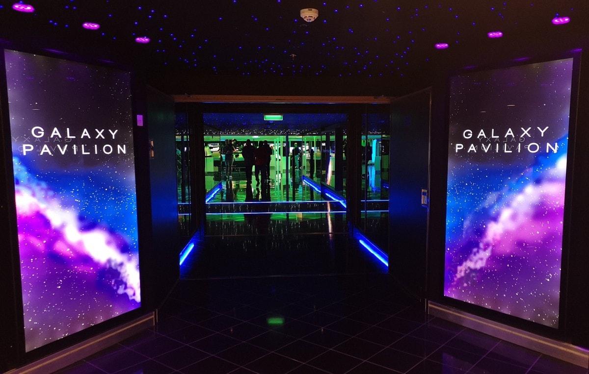 Galaxy Pavillion Norwegian Entertainment Encore