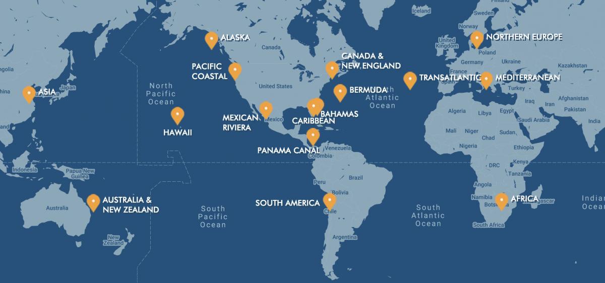 Norwegian Cruise Line Itinerary Choices