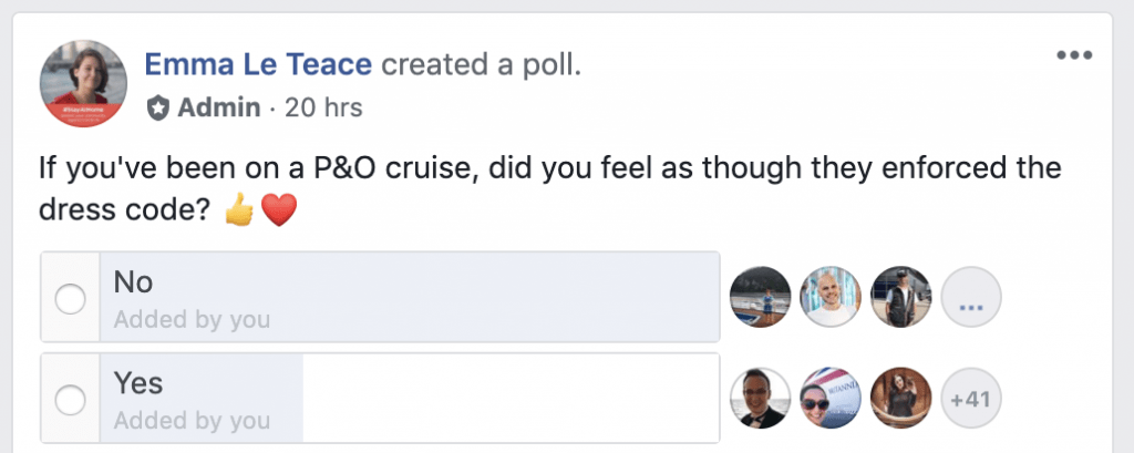 are p&O cruises dress codes enforced?