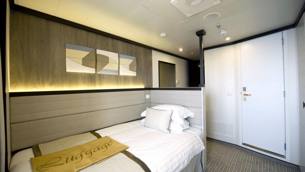 P&O Cruises Solo Balcony Cabin
