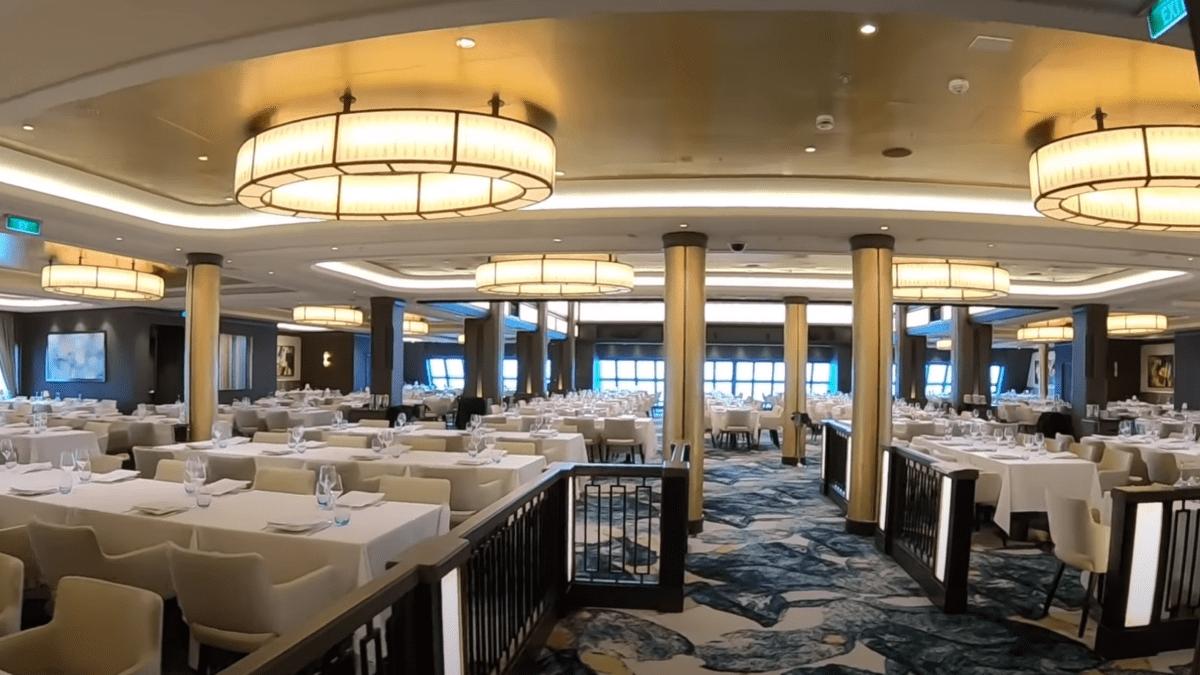 Norwegian Encore Dining Room