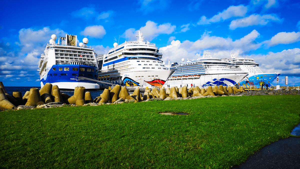 Tallinn Estonia Cruise Ships