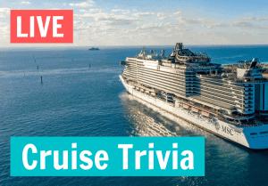 Live Cruise trivia