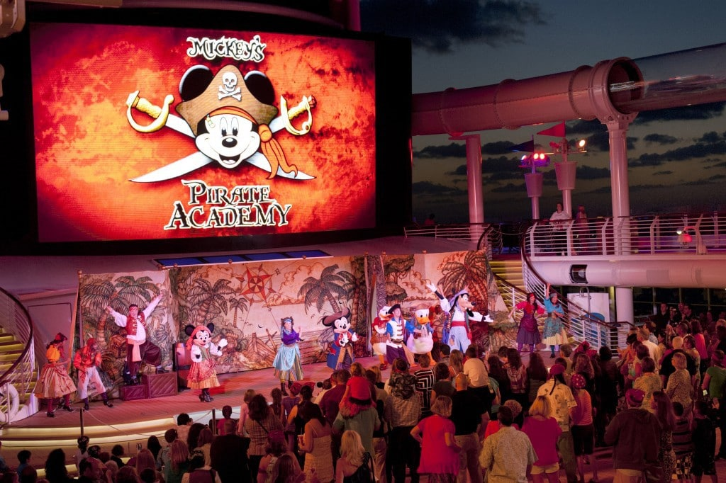 Disney Cruise Line Pirates