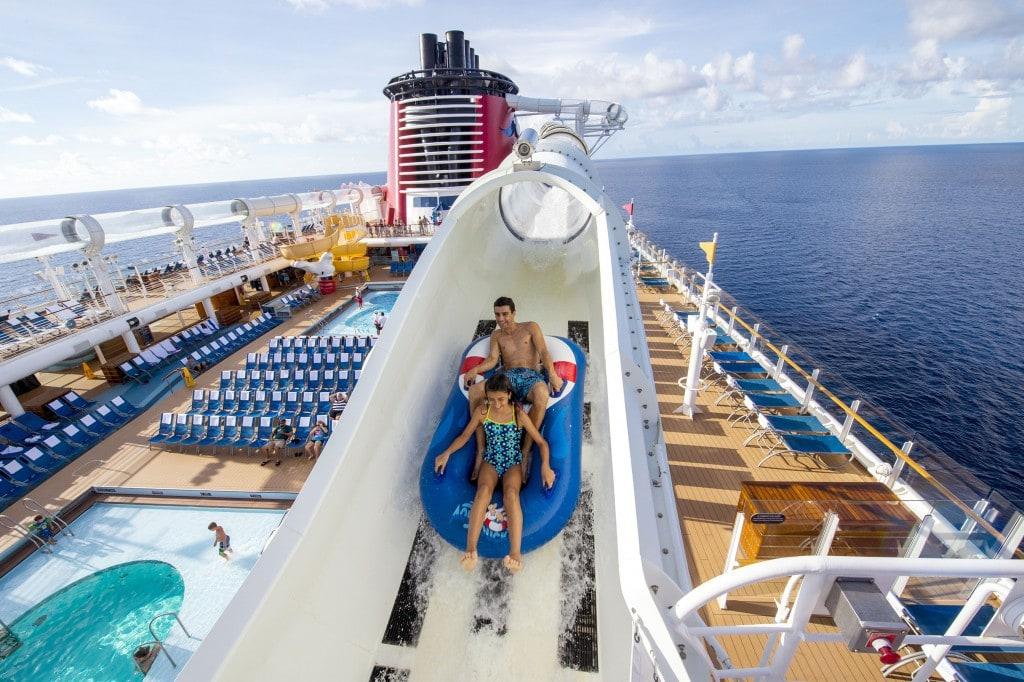 Disney Cruise Line Waterslides
