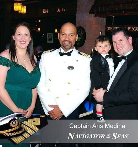 cruise captain photos navigator of the seas