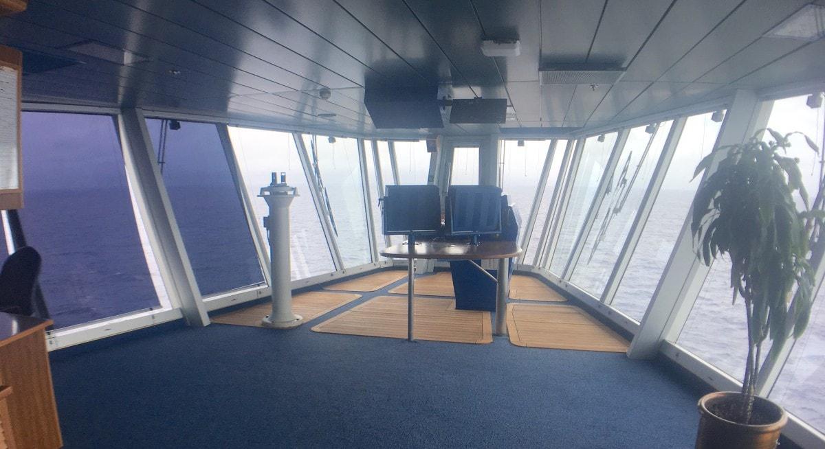 cruise captain bridge