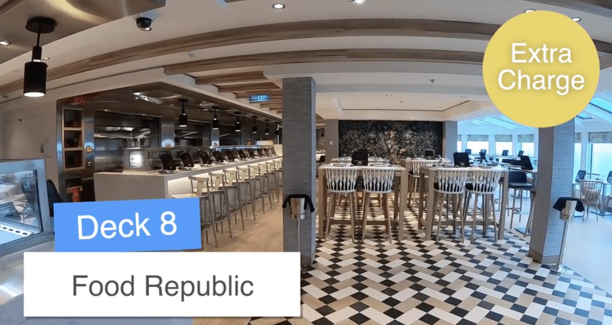Norwegian Encore Food Republic