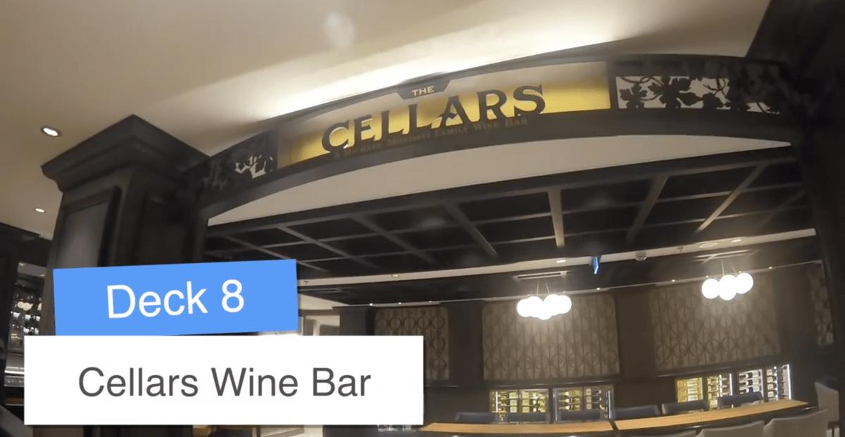 Norwegian Encore Cellars Wine Bar