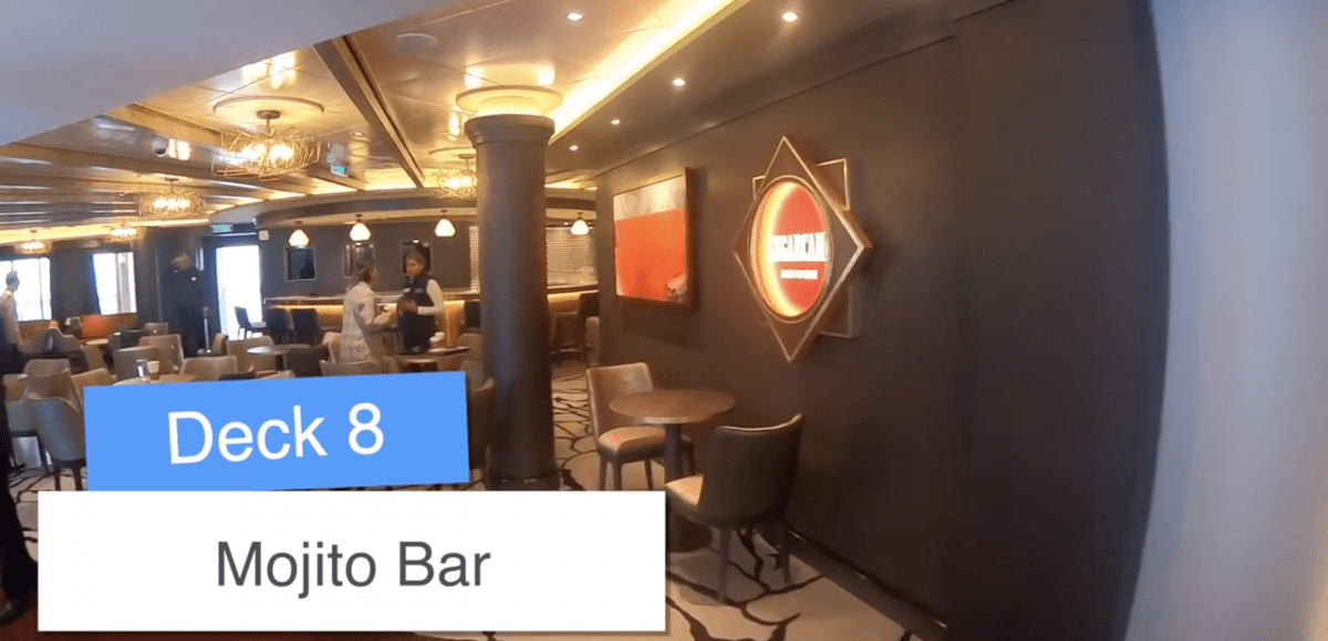 Norwegian Encore Mojito Bar