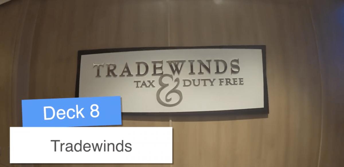 Norwegian Encore Tradewinds Shops