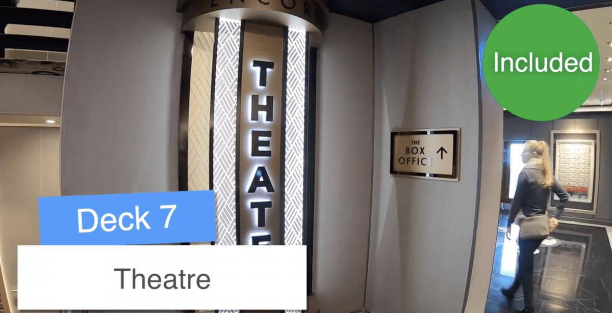 Norwegian Encore Theatre Theater