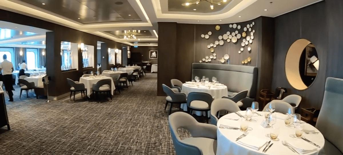 Norwegian Encore Main Dining Room Savor