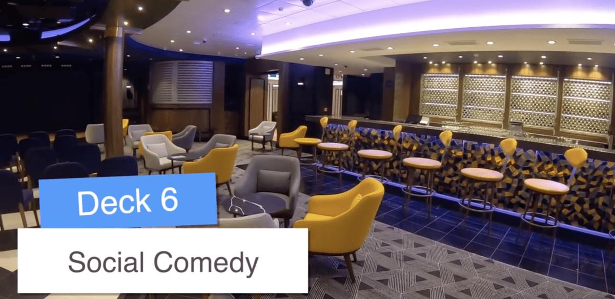 Norwegian Encore Comedy Club