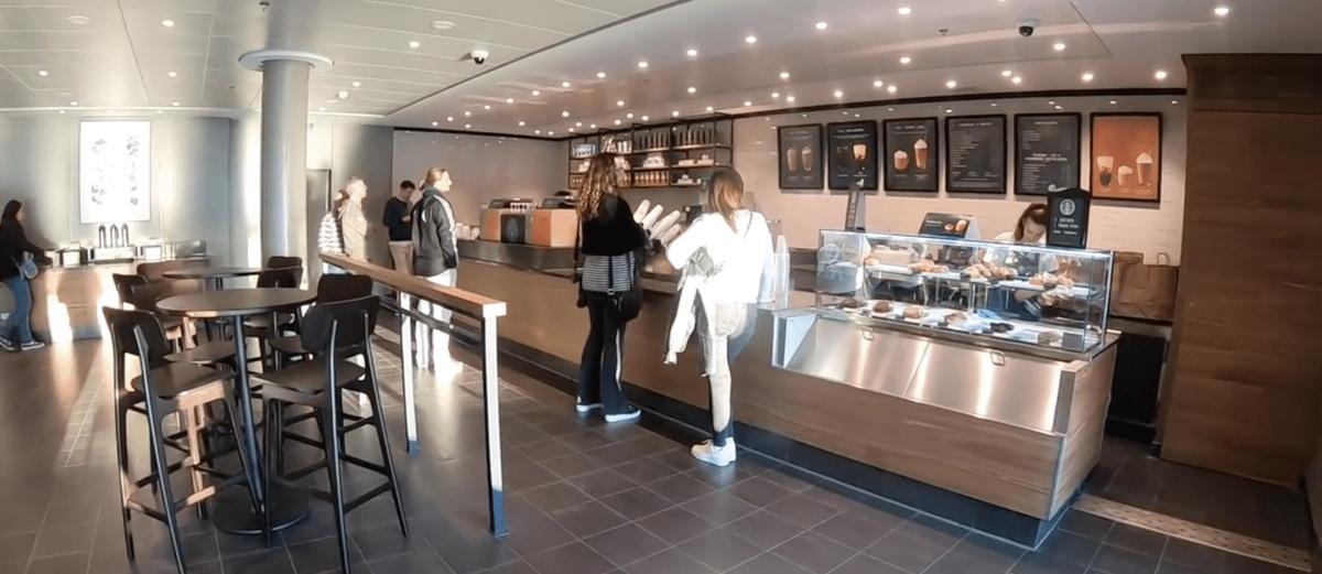 Norwegian Encore Starbucks