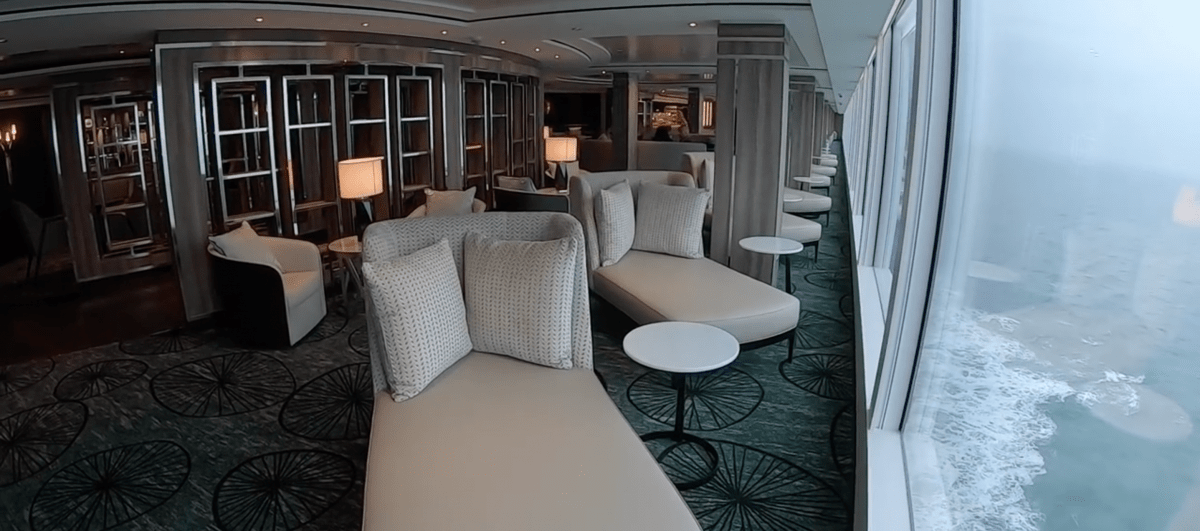 Norwegian Encore Observation Lounge