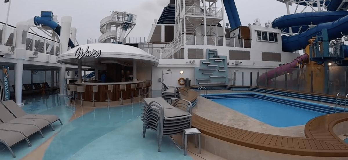 Norwegian Encore Sun Deck Pool Deck