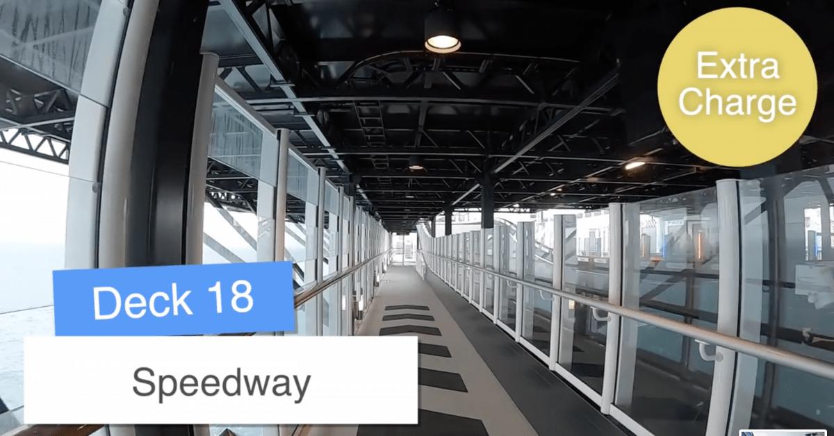 Norwegian Encore Go Kart Speedway