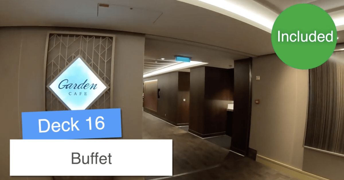 Norwegian Encore Buffet