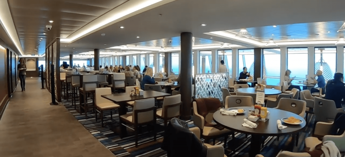 Norwegian Encore Buffet