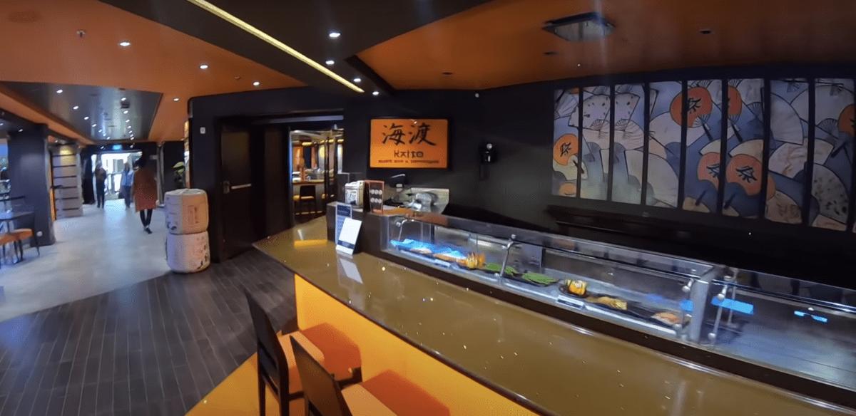 msc meraviglia kaito sushi bar