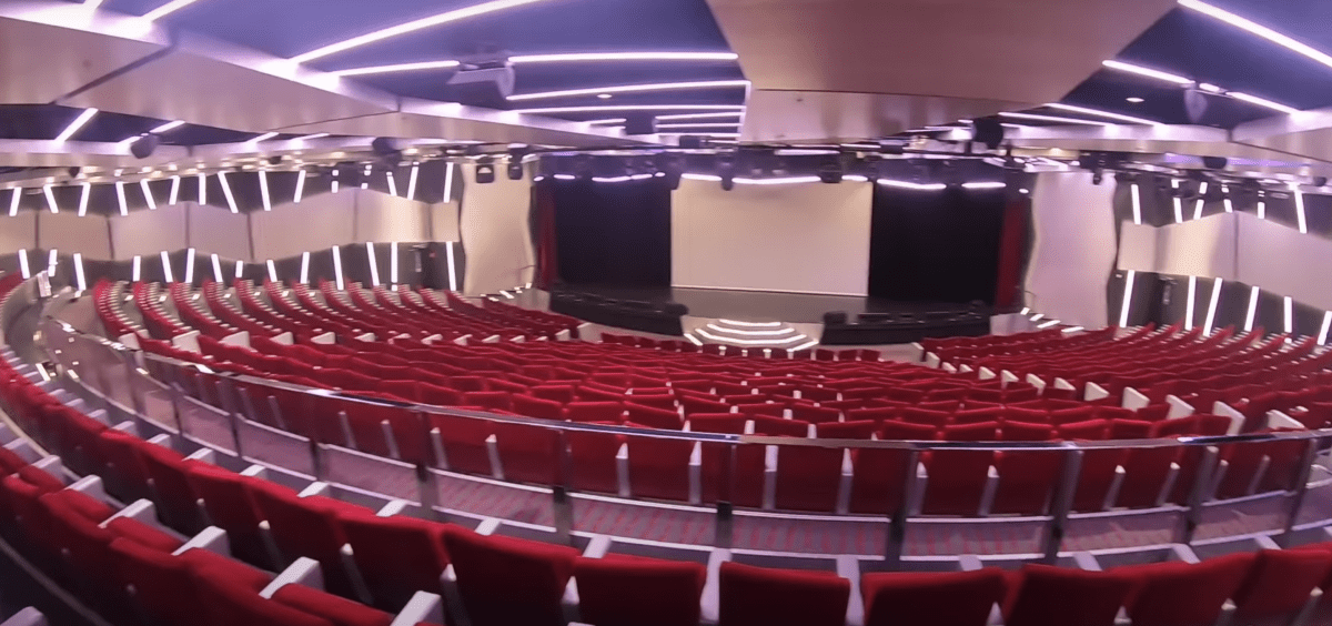msc meraviglia broadway theatre theater