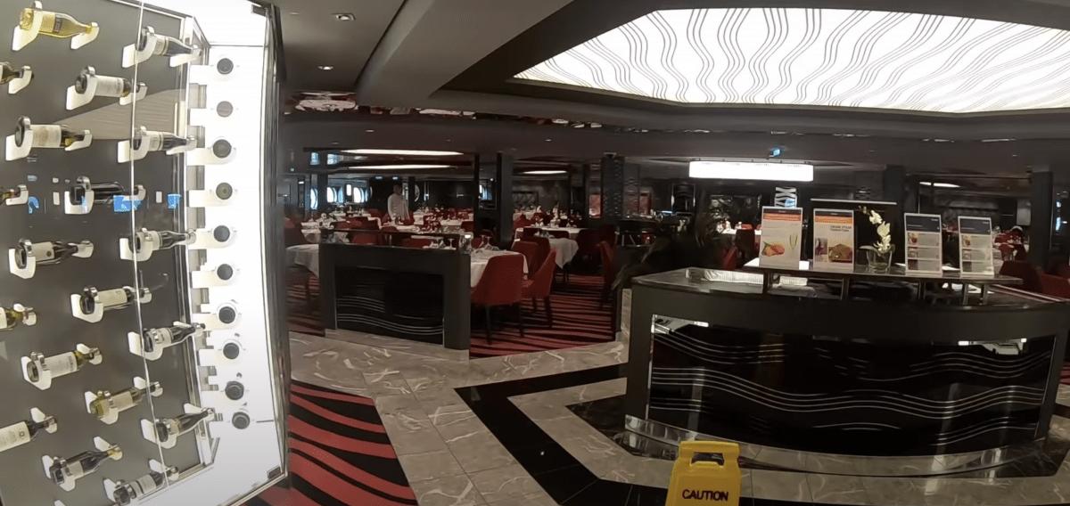 msc meraviglia wave restaurant