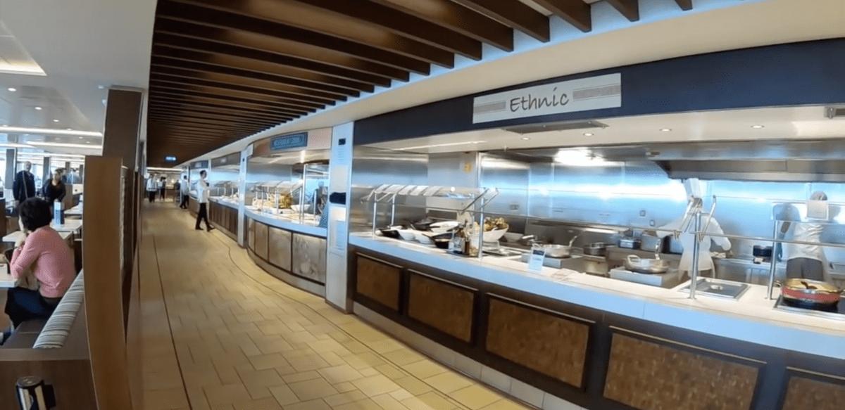 msc meraviglia mozzarella station buffet