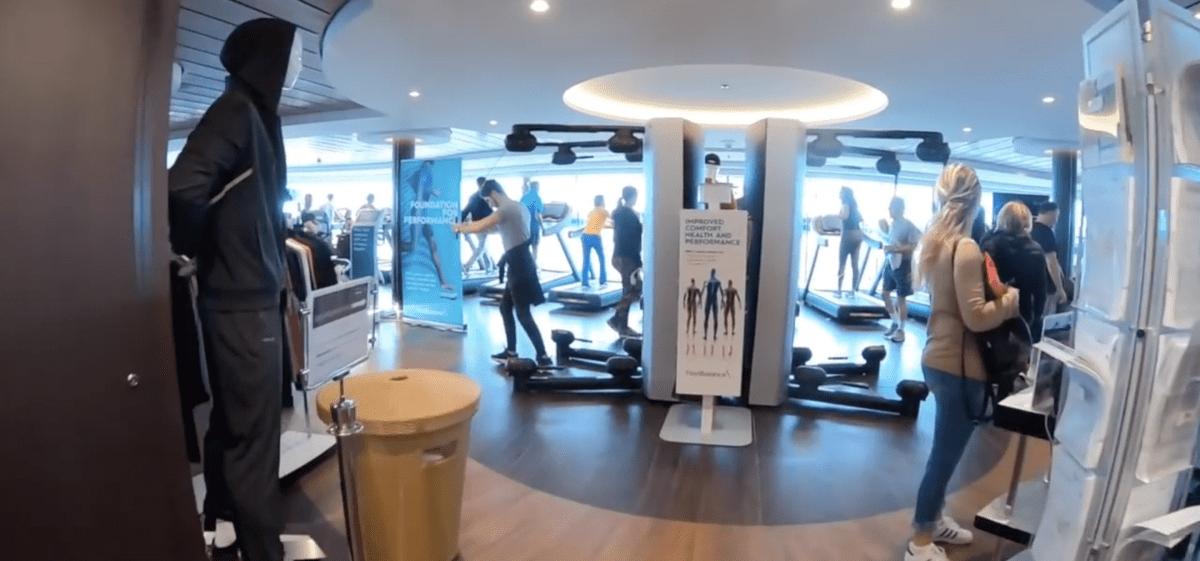 msc meraviglia gym